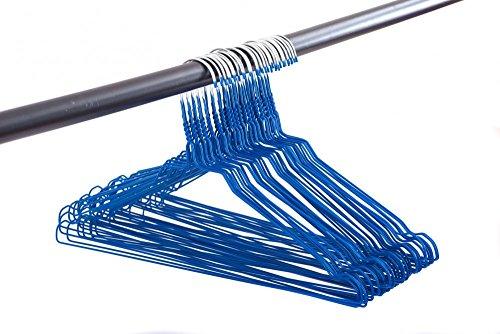Draht-Kleiderbgel-mit-Rockkerben-50er-Pack-40-cm-breit-Farbeblau