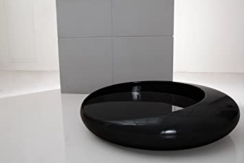 Space Modern Black Coffee Table