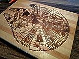 Star Wars Millennium Falcon Blue Prints Kitchen Cutting Board