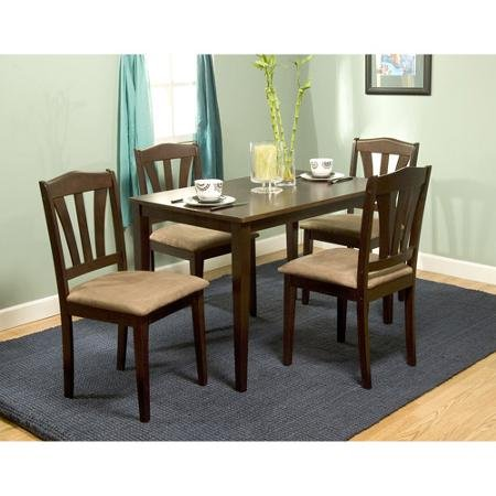 Englewood Dining Set for 4 (Espresso)
