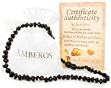 SALE!!! Amber Teething Necklace - for Babies (Unisex). Amberos Directly From Lithuania Certified Baltic Amber Baby Teething Necklace Highest Quality Guaranteed Anti Inflammatory, Drooling & Teething Pain. ...