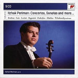 Itzhak Perlman plays Concertos and Sonatas