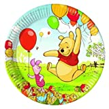 Procos 5948 Winnie the pooh paper plates (set of 10)