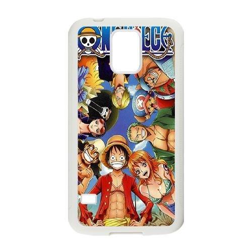 Samsung Galaxy S5 Phone Case White One Piece LH5863212