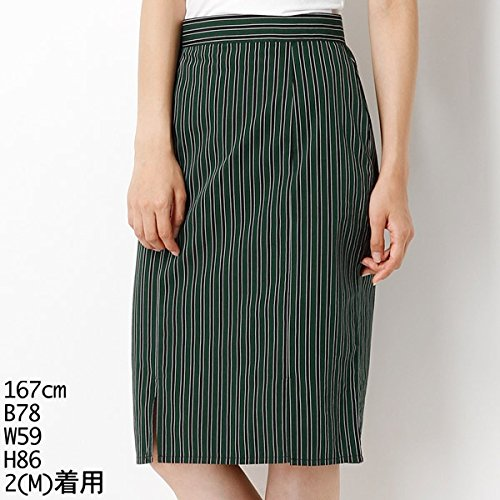 ムルーア(MURUA) スカート(マルチストライプタイトSK)【M40グリーン/M】