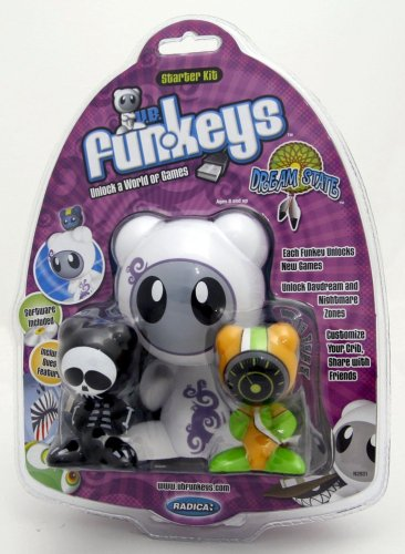 Buy Low Price Mattel U.B. Funkeys Dream State Starter Kit with Bones and Drift Figure (B000WUUN0A)