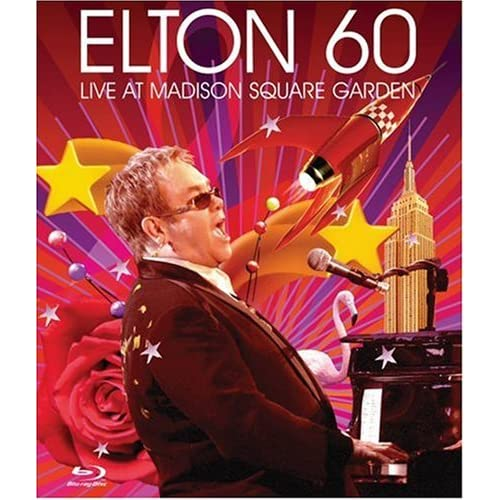 Elton John. Elton 60: Live At Madison Square Garden [2007 г., Pop, Blu-Ray]