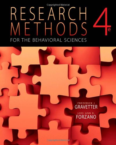 Research Methods for the Behavioral Sciences (PSY 200...