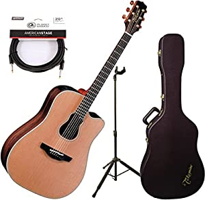 takamine gb7c garth brooks acoustic electric guitar with case stand and cable. Black Bedroom Furniture Sets. Home Design Ideas