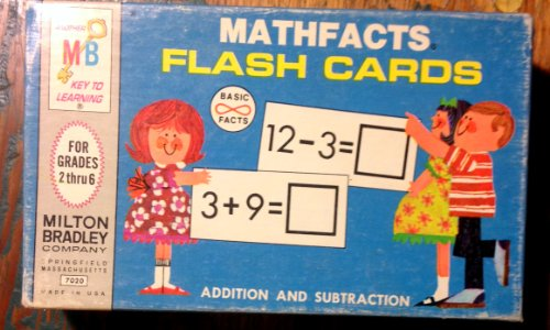 Mathfacts Flash Cards Addition and Subtraction - 1