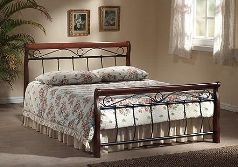 Bett Venecja Metallbett Doppelbett 160 x 200cm inkl. Lattenrost