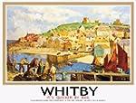 TU3 Vintage Whitby Yorkshire LNER Rai...