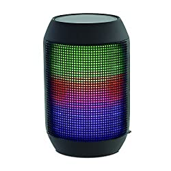 SoundLogic XT Rechargeable Wireless Rave II Bluetooth Speaker with LED Light Show