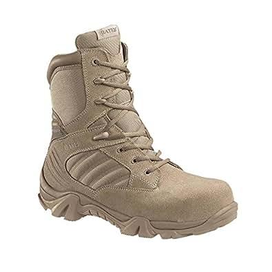 Bates E02276 GX-8 Desert Composite Toe Side Zip Boot - Tan 11 EW