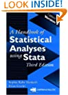 Handbook of Statistical Analyses Using Stata, Third Edition (English and Chinese Edition)