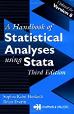 Handbook of Statistical Analyses Using Stata by Brian S. Everitt