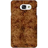 AMAN Rough Wood 3D Back Cover For Samsung Galaxy A7 2016
