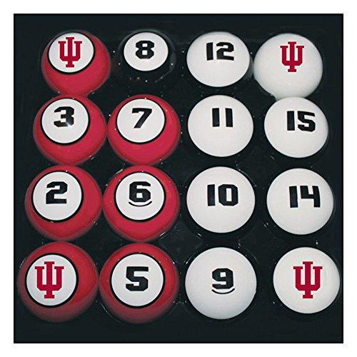 Indiana Billiard Balls, Indiana Hoosiers Billiard Balls