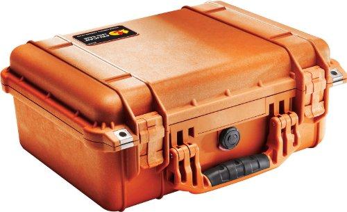 Pelican 1450 Case with Foam for Camera OrangeB00009XVLL