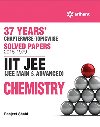 37 Years' Chapterwise Solved Papers (2015-1979) IIT JEE Chemistry