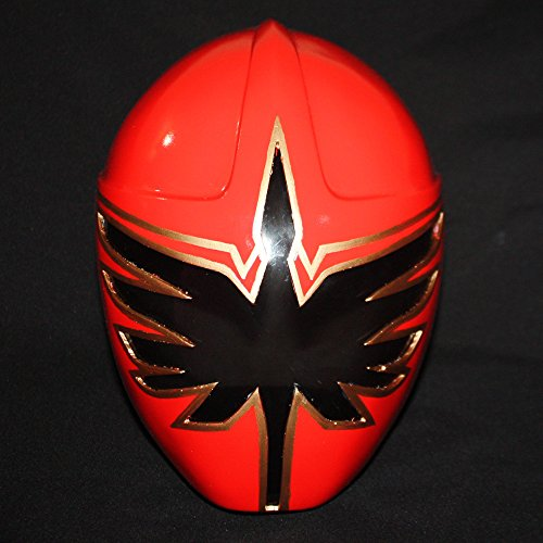 1:1 Halloween Costume Cosplay Mighty Mystic Force Power Ranger Helmet Mask red PR04
