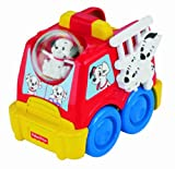 Fisher-Price Amazing Animals 101 Dalmatians Rollin' Round Fire Truck