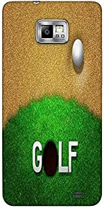 Snoogg Ball In Sand Golf Background Solid Snap On - Back Cover All Around Pro...