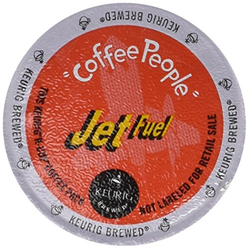 Coffee People XBold Dark Roast, Jet Fuel, 96-Count K-Cups for Keurig Brewers (Fuel Coffee compare prices)