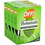 32ct Off Botanicals Towelettes Wipes Natural Insect Mosquito West Nile Repellent