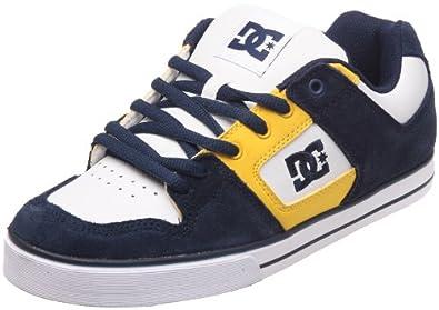 DC Shoes Pure Slim Mens Shoe D0301970, Herren Sneaker, Blau (DC Navy/White DNW), EU 41 (UK 7.5) (US 8.5)