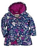 Hathi Girls Raincoat - Field Flowers - Chubasquero para niñas, color violett - violett, talla 4