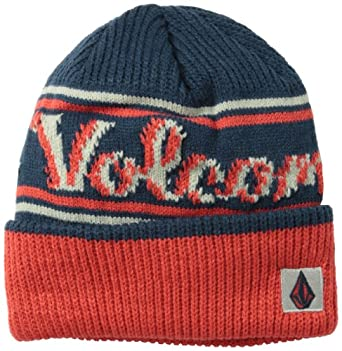 Volcom Men's Brand Beanie, Navy, One Size
