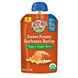Earths Best Organic Veggie & Protein Puree Baby Food, Sweet Potato Garbanzo Barley, 3.5 Ounce (Pack of 12)