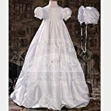 Little Things Mean a Lot Anabel Silk Christening Gown