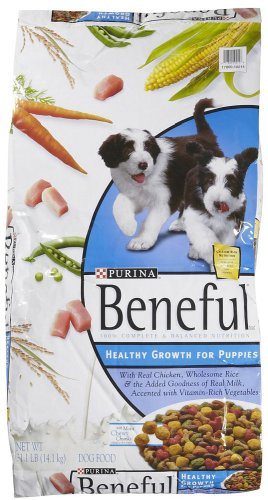 Purina 178215 Beneful Healthy Growth Puppy Food, 31.1-Pound