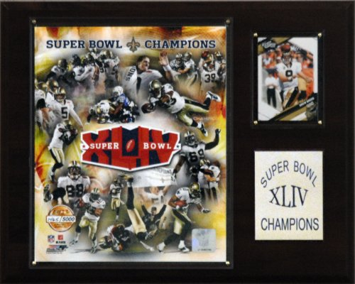 NFL Saints Super Bowl XLIV Limited Edition Champions Plaque at Amazon.com