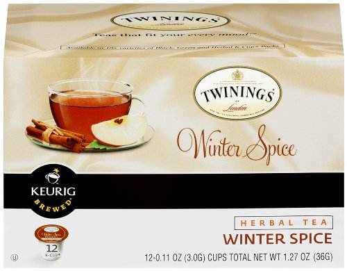 Twinings Winter Spice Herbal Tea K-Cups For Keurig Brewers - 24 Count