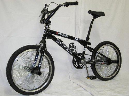 20 zoll bmx freestyle fahrrad 140 speichen schwarz. Black Bedroom Furniture Sets. Home Design Ideas