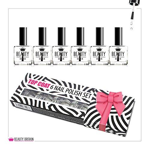6-x-top-coat-nail-varnish-polish-clear-nail-varnish-10-ml