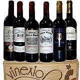 【厳選ヴィネクシオセレクト】金賞受賞酒 フランスボルドー 赤ワイン 飲み比べ 6本セット 750ml×6本