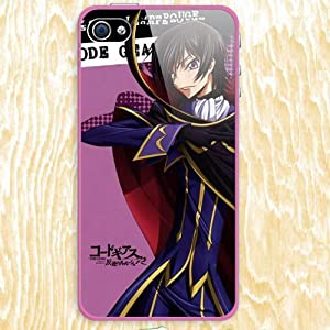 Japanese Anime Code Geass Lelouch of the Rebellion Design Skin Hard Back Case Decal PVC Cover for Apple Iphone4 / 4s