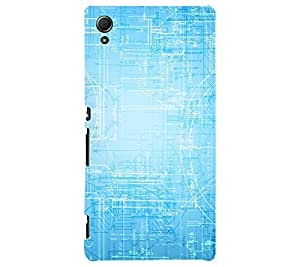 Printed back cover for Sony Xperia Z2