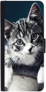 Snoogg Baby Cat Kitty designer Protective Phone Flip Case Cover For Lg Nexus 5X