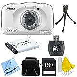 Nikon COOLPIX S33 13.2MP Waterproof Shockproof Digital Camera...