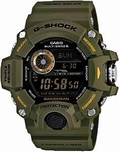Casio G-SHOCK MASTER OF G RANGEMAN Triple Sensor Ver.3 Multiband 6 Solar - Tactical Men's Watch GW-9400J-3JF (Japan Import)
