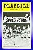 The 25th Annual Putnam County Spelling Bee, Off-Broadway Playbill + Jesse Tyler Ferguson, Celia Keenan-Bolger, Dan Fogler