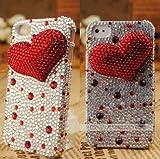 ◆3Dデコ盛り♪♪キラキラ♪ラインストーンケース/iphone5/アイフォン5/専用ケースカバー/1LOVE