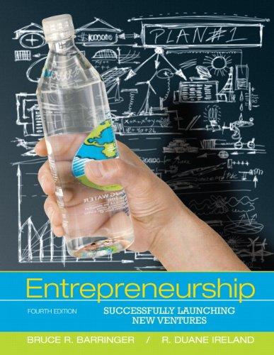 Entrepreneurship: Successfully Launching New Ventures...