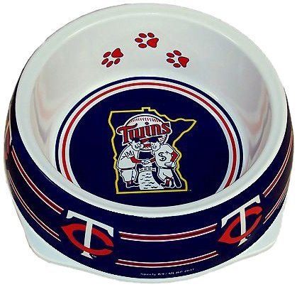 Sporty K9 Minnesota Twins Dog Bowl, Small