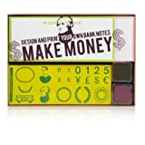 Make Money Rubber Stamps Kit